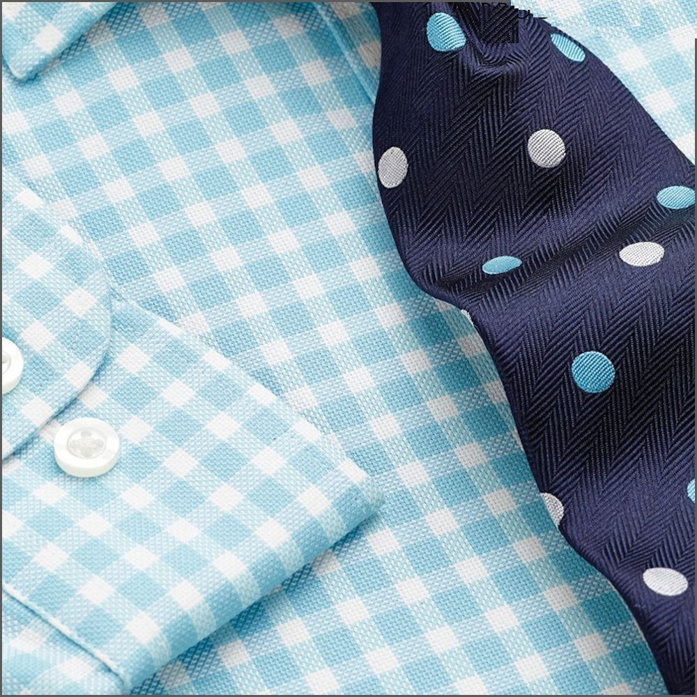 Buy Aqua Blue Royal Oxford Check 100% Easycare ‪Cotton‬ Single ‪‎Cuff Shirt‬! Shop Now: http://www.hotnewpricedeals.com/product/aqua-blue-royal-oxford-check-100-easycare-cotton-single-cuff-shirt