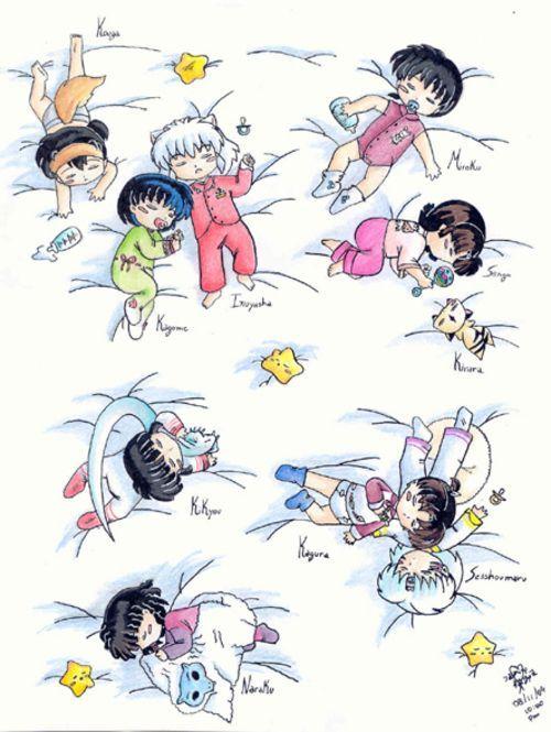 Baby InuYasha Characters