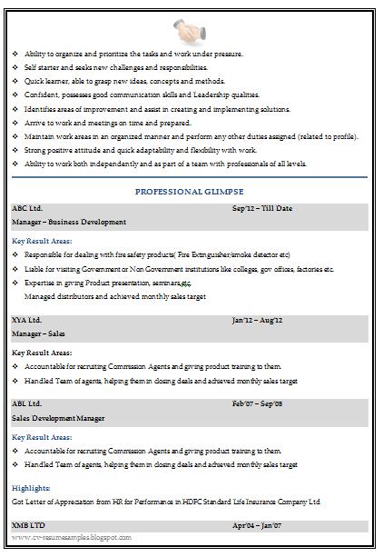Graduate Resume Template For Sales U0026 Marketing (2)