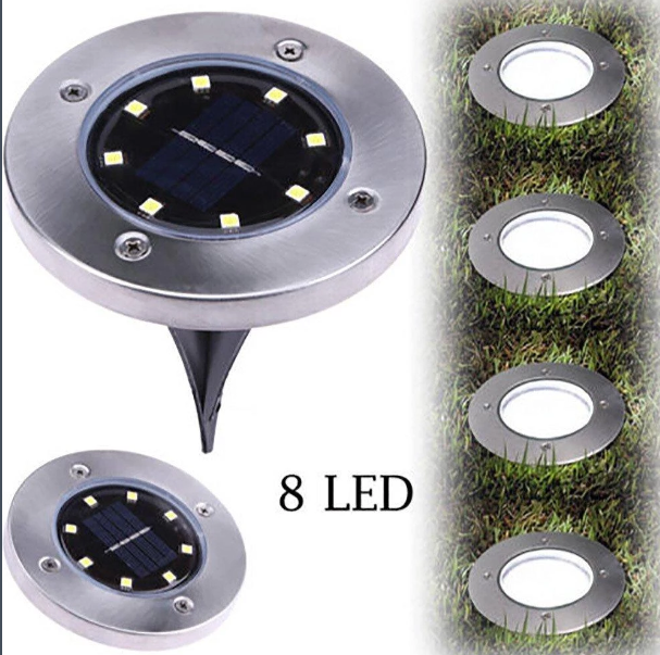 Smart Solar Powered Led Pathway Light With Images