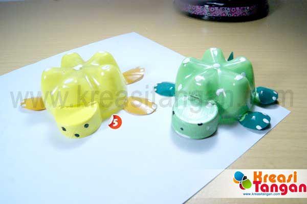 Membuat Mainan Dari Botol Bekas | Kerajinan Tangan | Pinterest
