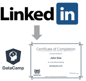 Linkedin Certificates For Datacamp S Free Courses In R