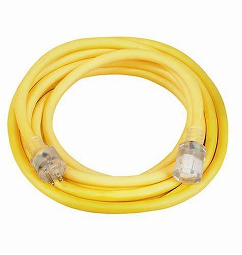 Coleman Cable 0 10 3 Vinyl Outdoor Extension Cord With Lighted End Outdoor Extension Cord Extension Cord 10 Things