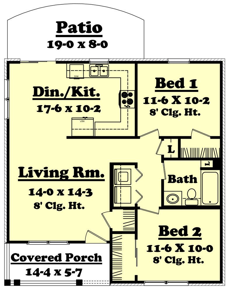 Ridgeline House Plan   Pinterest   Bath, Tiny houses and Camping
