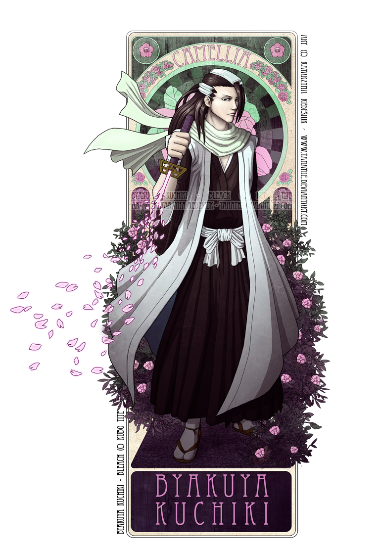Byakuya - Camellia by tanathe deviantart com on @deviantART