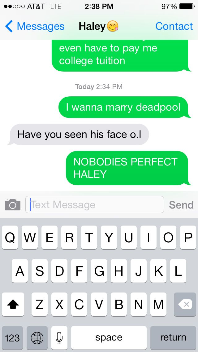 Deadpool is perfect to me