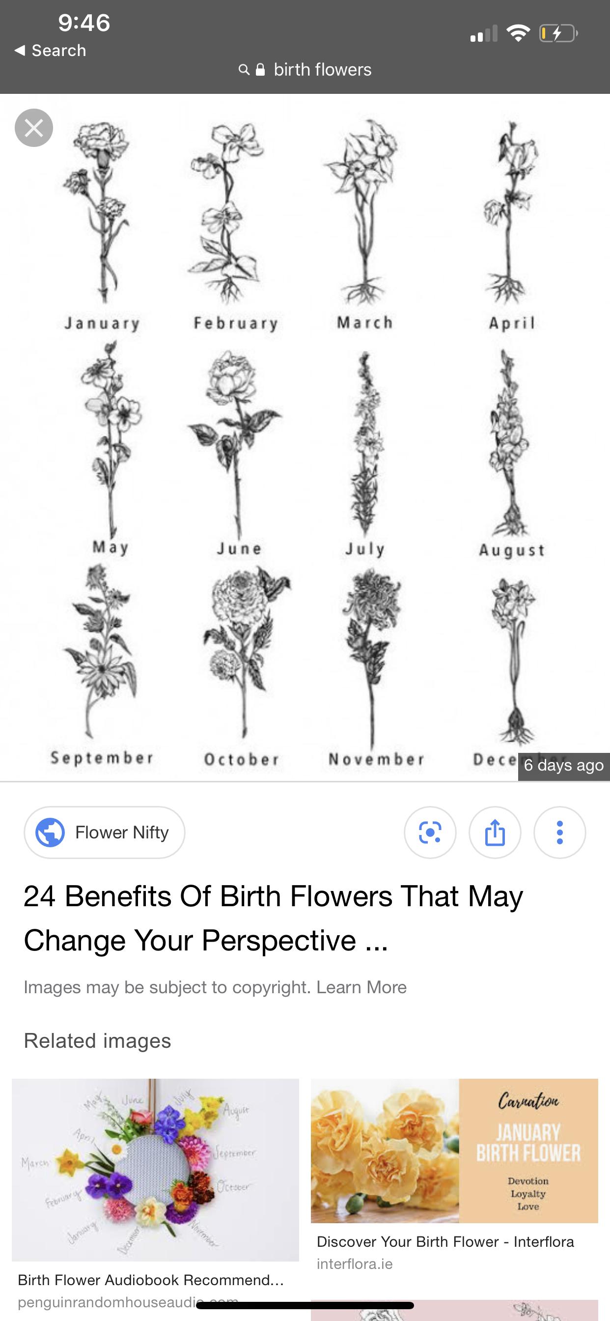 Birth Flowers Tattoo Idea Birth Flower Tattoos May Birth Flowers Birth Flowers