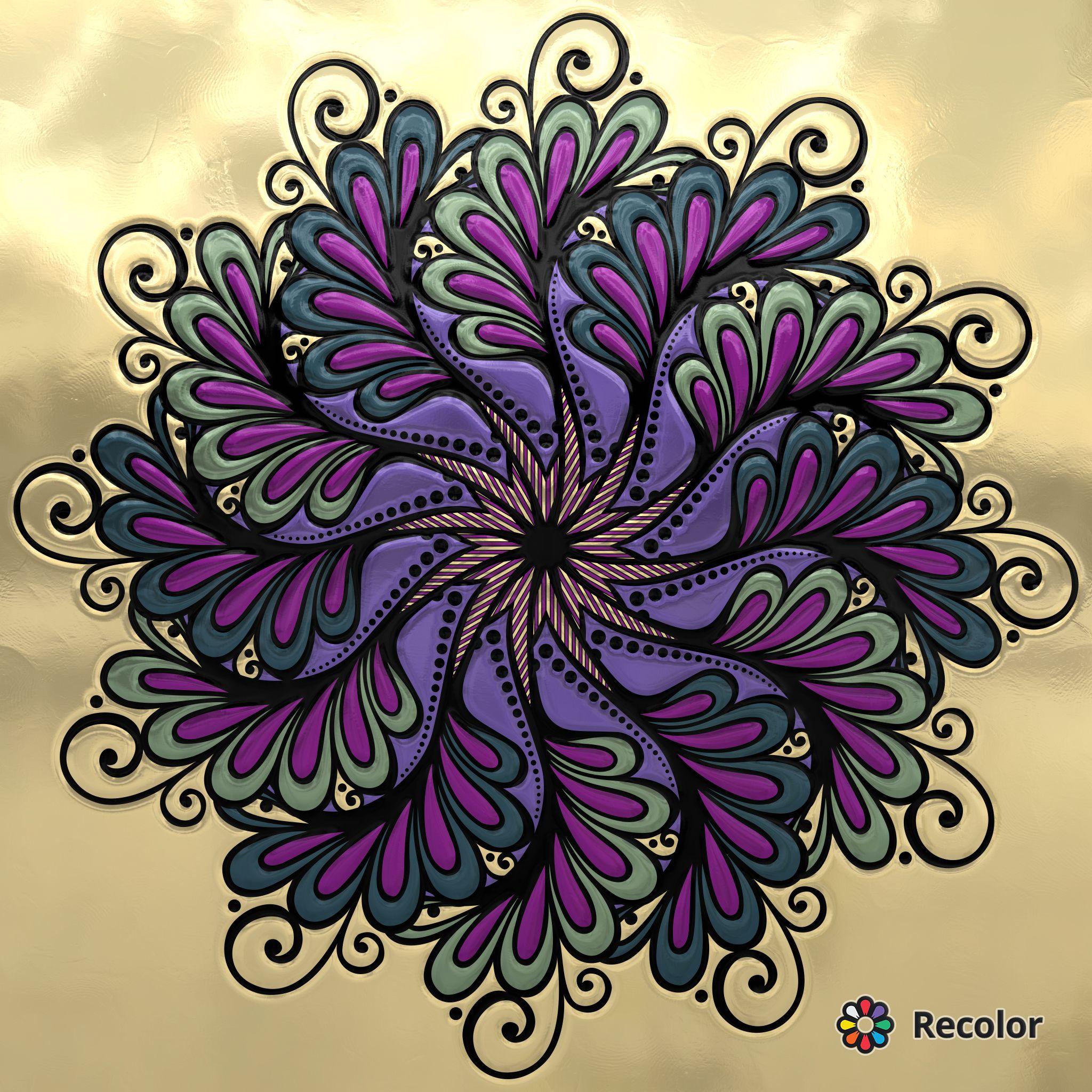 Pin de Heather Riggs en coloring pages - kids   Pinterest   Mandalas ...