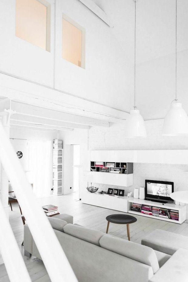 my scandinavian home: The serene white home of a designer   Decor ...