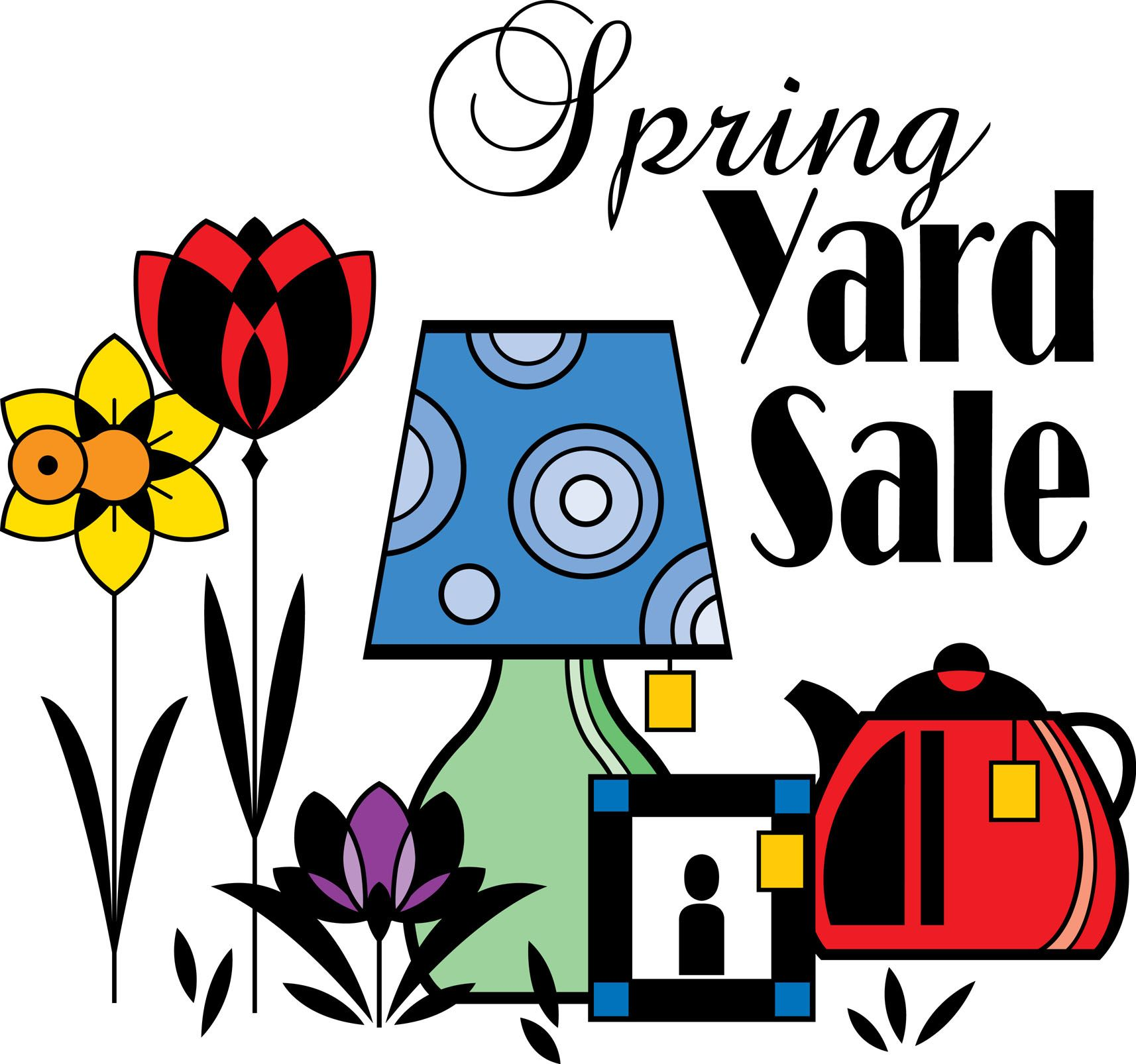 Clip Art Yard Sale With Images Yard Sale Yard Sale Signs For