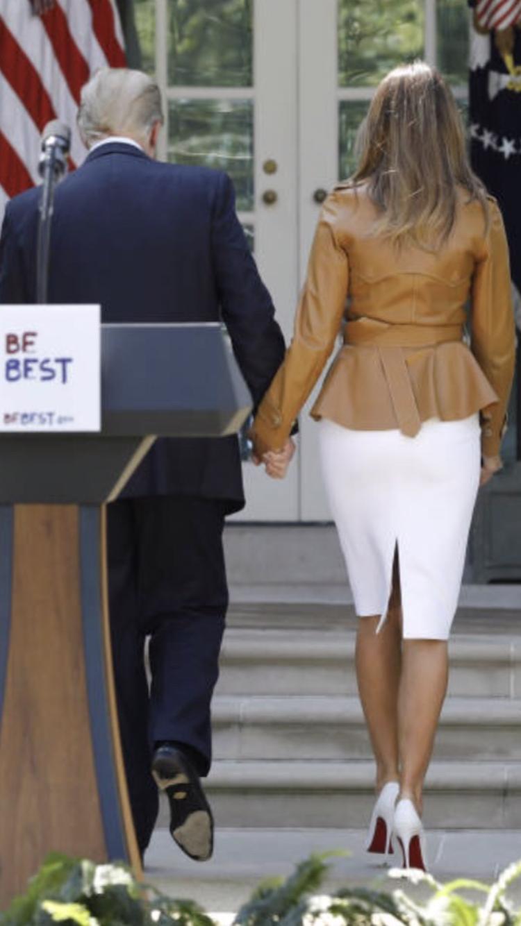 "President & First Lady Melania Trump, ""Be Best"" 5/7/18"