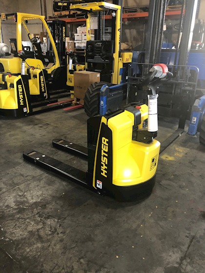 2020 Hyster Electric Pallet Jack For Sale 3 500 Machinery Marketplace 52891958 In 2020 Electric Pallet Pallet Jack Pallet