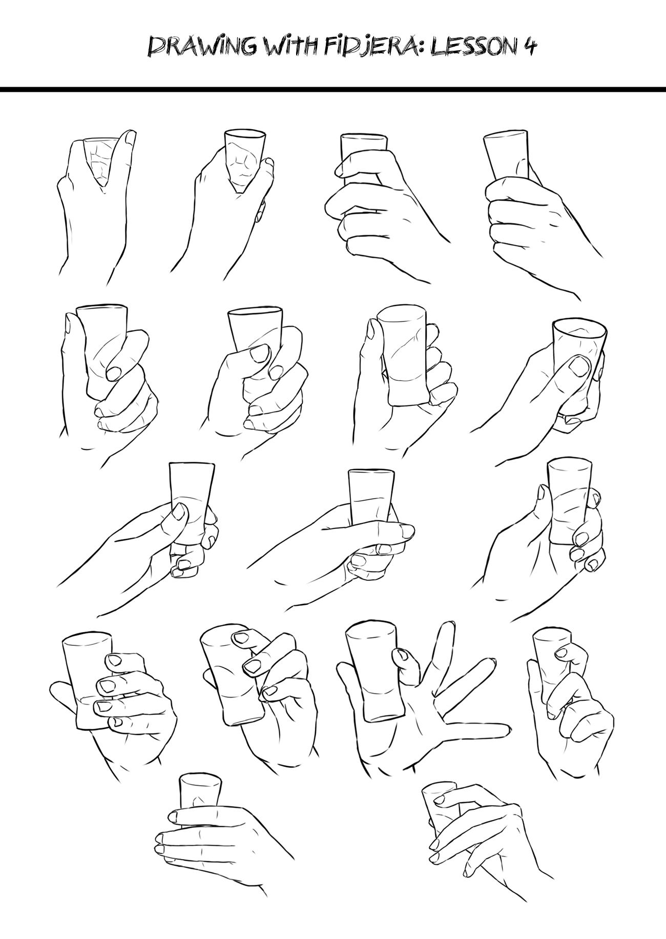 Anime Hand Holding Something : anime, holding, something, Drawing, Hands, Holding, Something, Installer