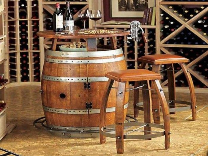 Interior amazing small home bars design with small wine storage and vintage concept ideas - Mini bar table design ...