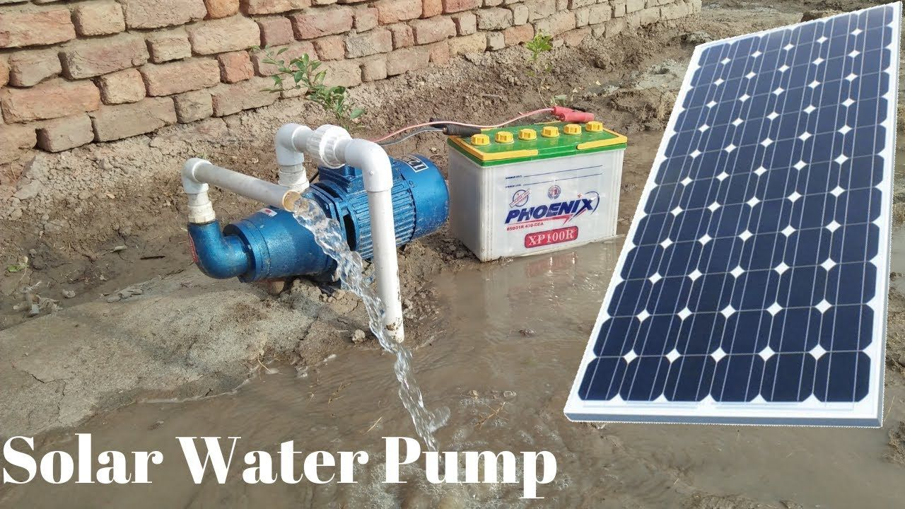 Install Solar Water Pump 12v Solar Pump With 150 Watt Solar Panel With Borewell Drill Complete Steps Youtube In 2020 Solar Water Pump Solar Panels Solar Power Panels