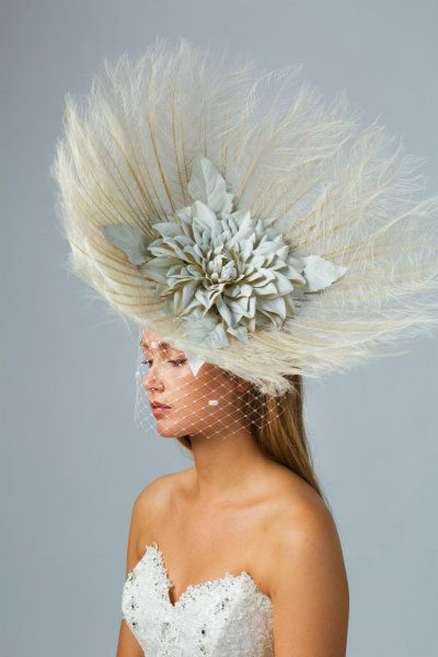 cara-headpiece-8 BY CARRIE JENKINSON #millinery #hats #HatAcademy