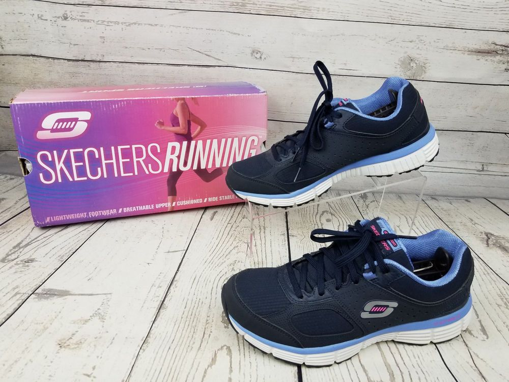 Skechers Sport Women S Ramp Up Agility Sneakers Sz 10 Lightweight