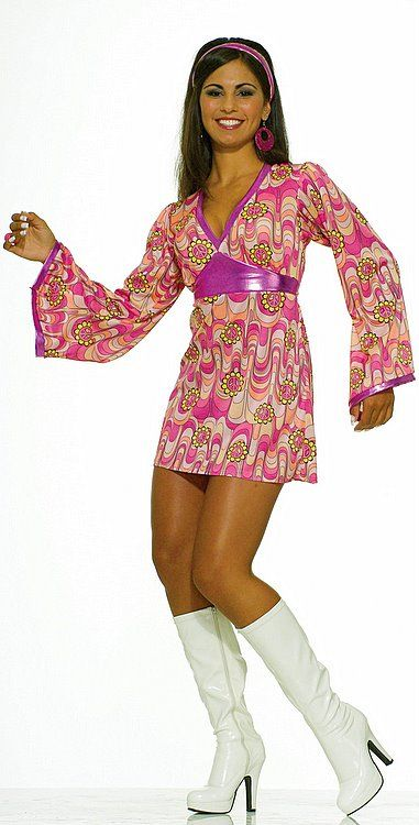 2980b3f0dbd8 Adult Flower Power Babe Costume - Candy Apple Costumes - Sexy Women s  Costumes