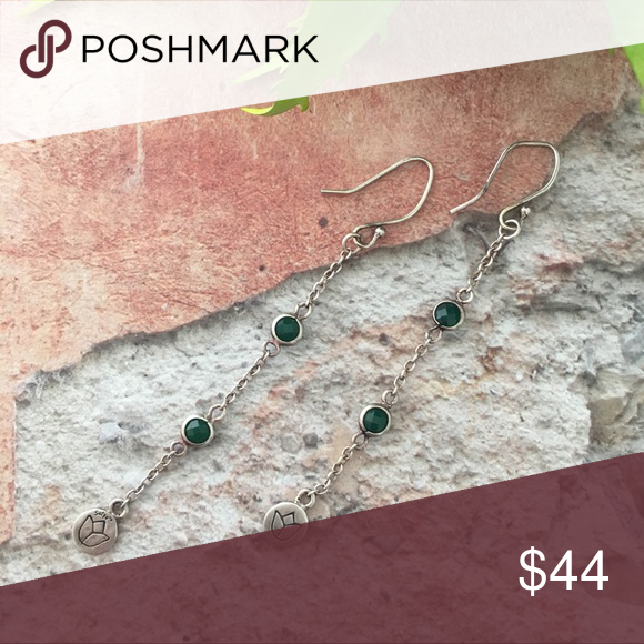 Green Onyx Lotus Earrings By Satya Jewelry Symbolizes New Beginnings And Infinite Potential