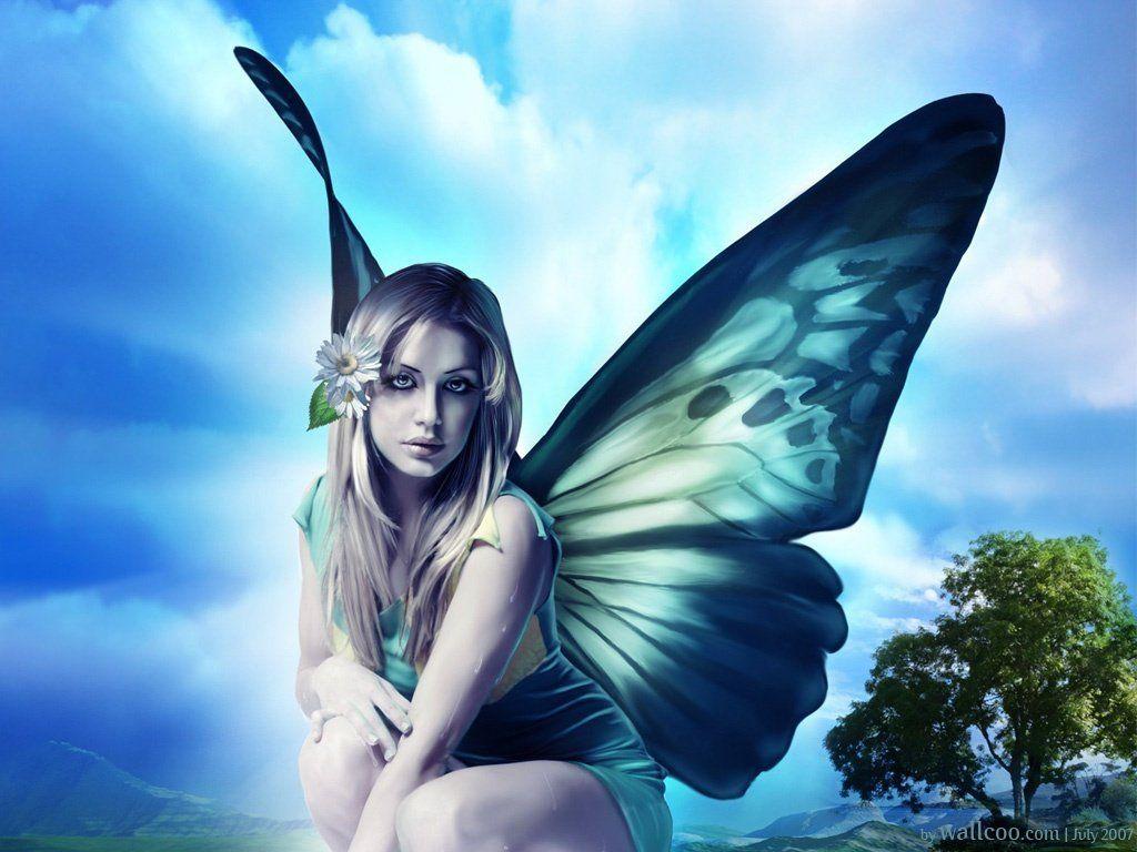 Beautiful Blue Fairies Fairy Photos Beautiful Fairy Desktop Wallpapers Beautiful Fairy Fairy Wallpaper Fantasy Water Fairy