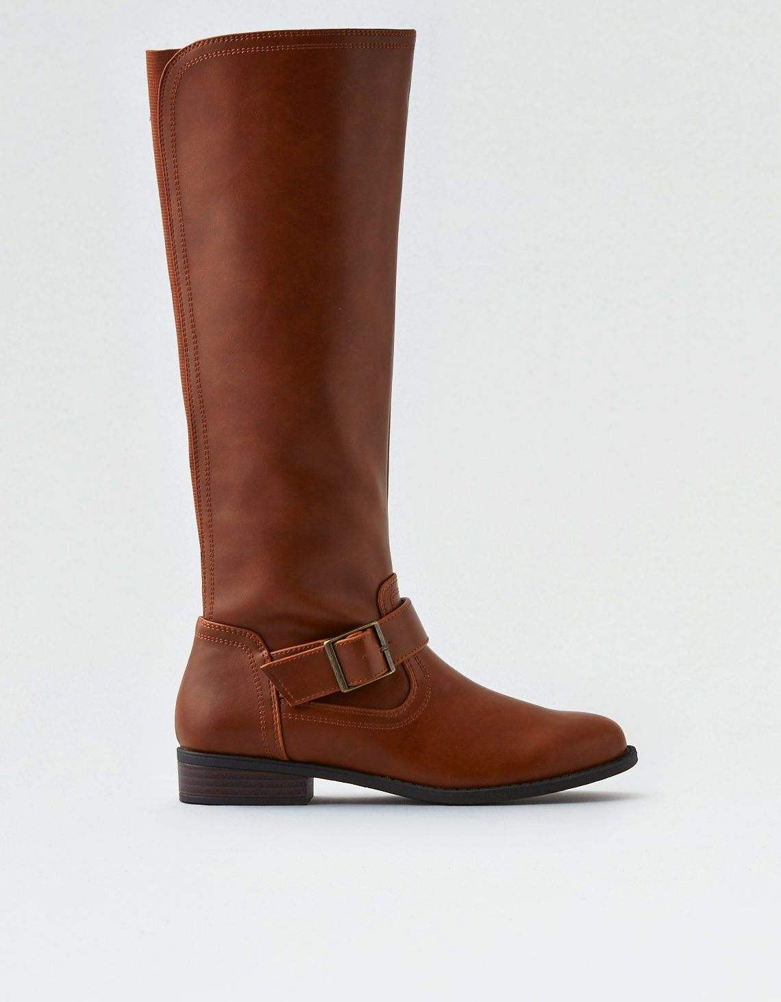 8f894fd5194 AEO Tall Riding Boot, Tan | New Shoes | Tall riding boots, Riding ...