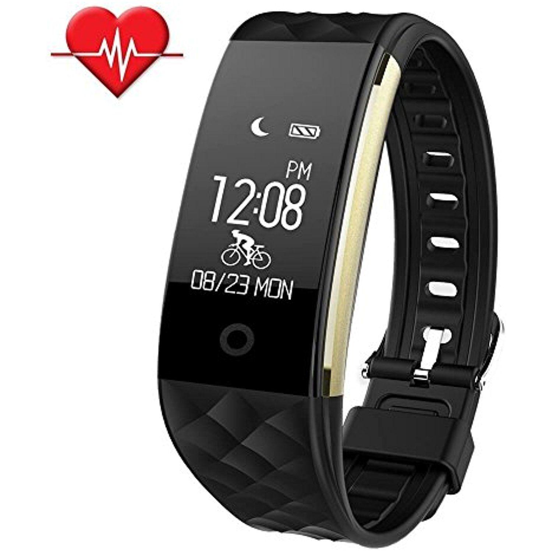 SinoPro Fitness Tracker, Heart Rate Monitor Smart Bracelet