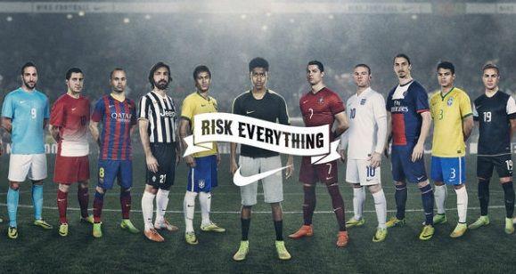 germen especificar Fabricante  Nike New World Cup Ad Video Featuring Ronaldo, Rooney, Neymar & More |  Soccer, Nike world, Nike football
