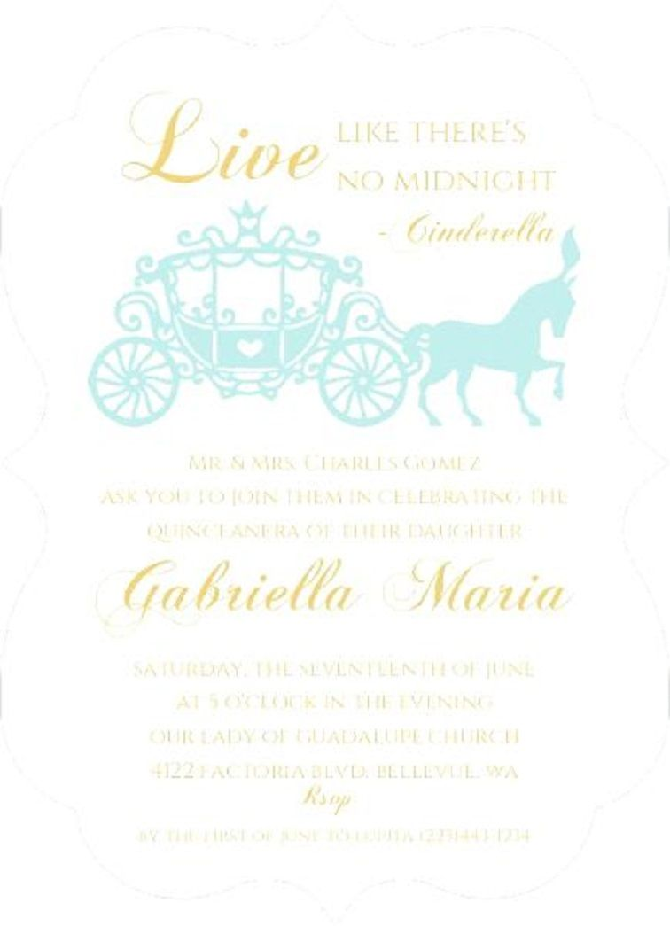 Religious Quinceanera Invitation Wording