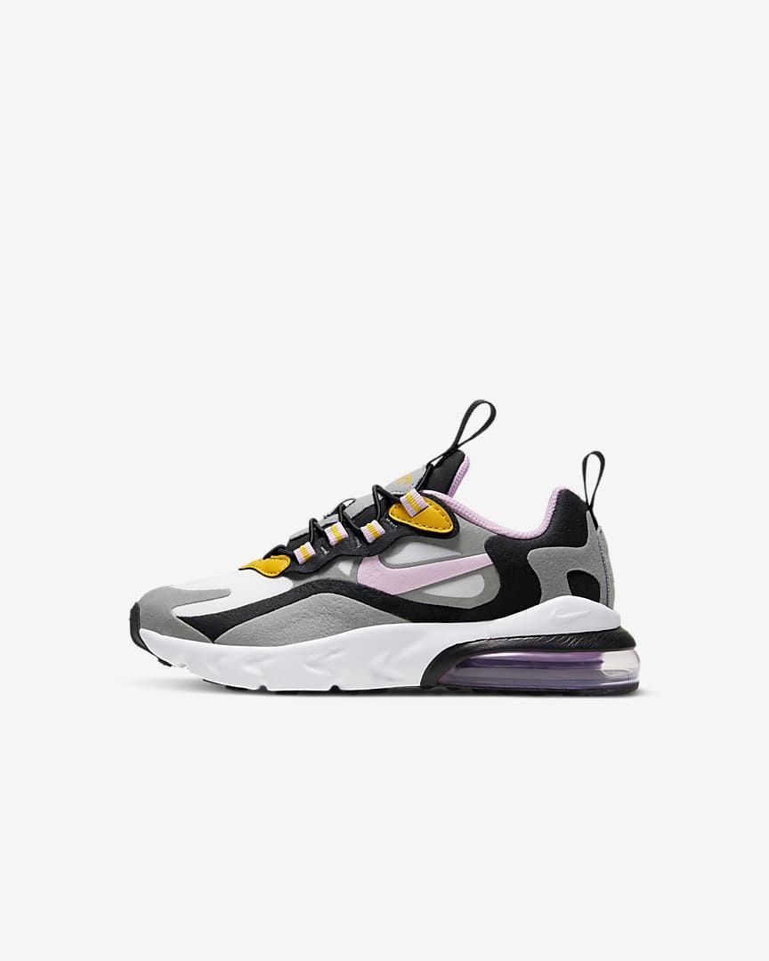 Nike Air Max 270 React Zapatillas Niño A Nike Es Zapatillas De Niñas Nike Air Max Nike Air