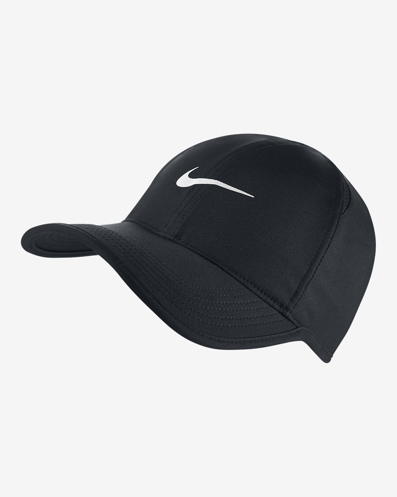 Nikecourt Aerobill Featherlight Tennis Cap Nike Cap Recycled Polyester Fabric