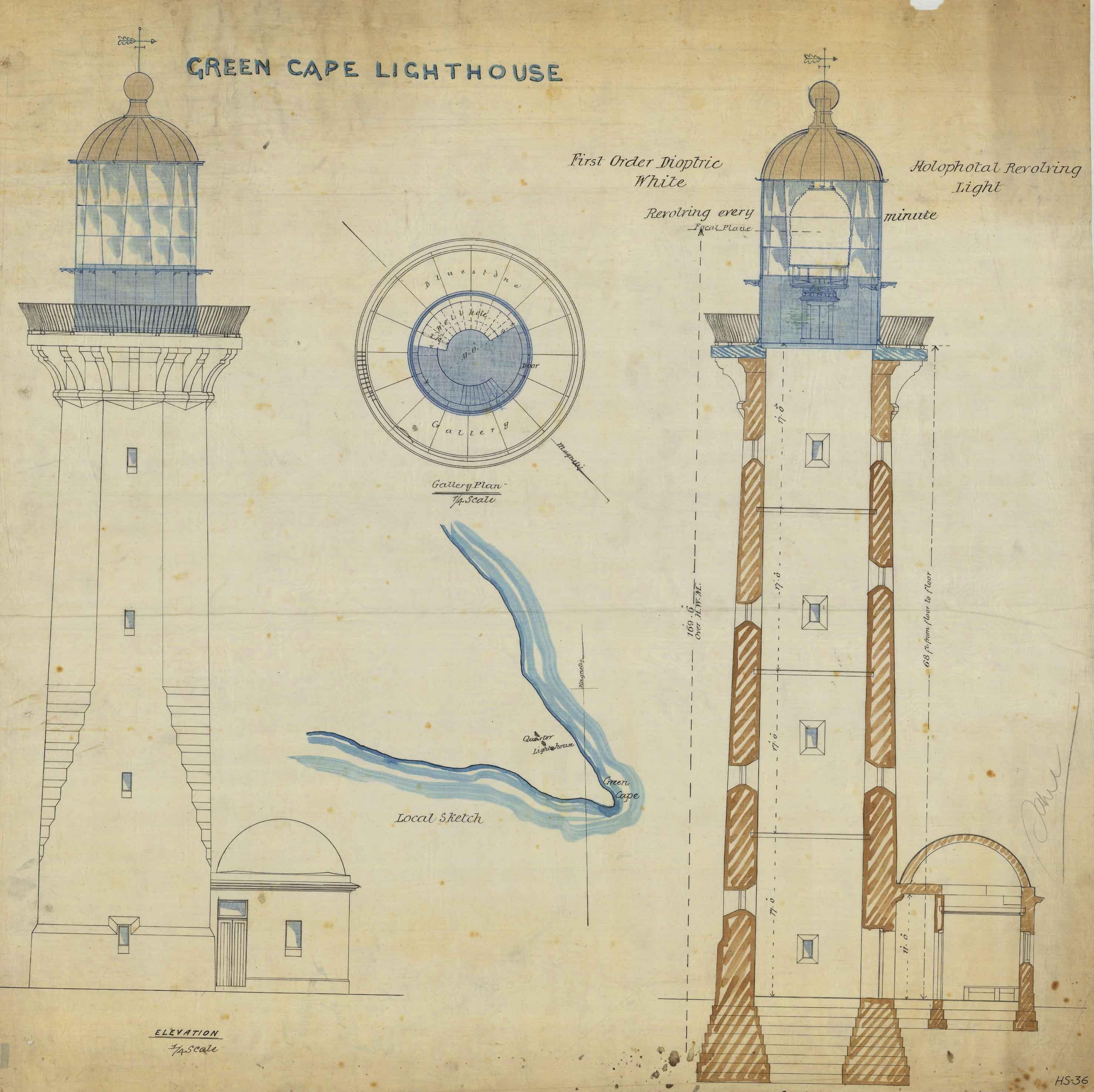 Green_Cape_Lighthouse,_plans,_1915.jpg (2959×2953)