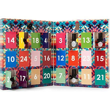 It\u0027s a nail polish advent calendar for December! Count down the days