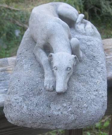 Gardens Greyhound Statue