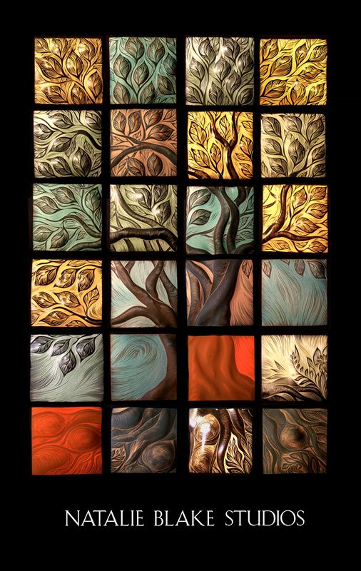Tree of Life Tile — Natalie Blake Studios