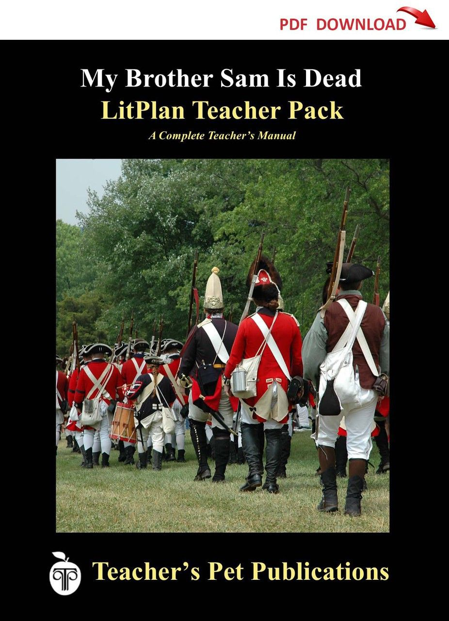 My Brother Sam Is Dead Lesson Plans | LitPlan Teacher Guide