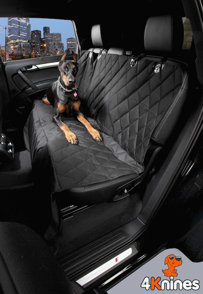 4Knines - Dog Seat Cover with the Best Nonslip Rubber Backing ... : quilted bench seat cover - Adamdwight.com