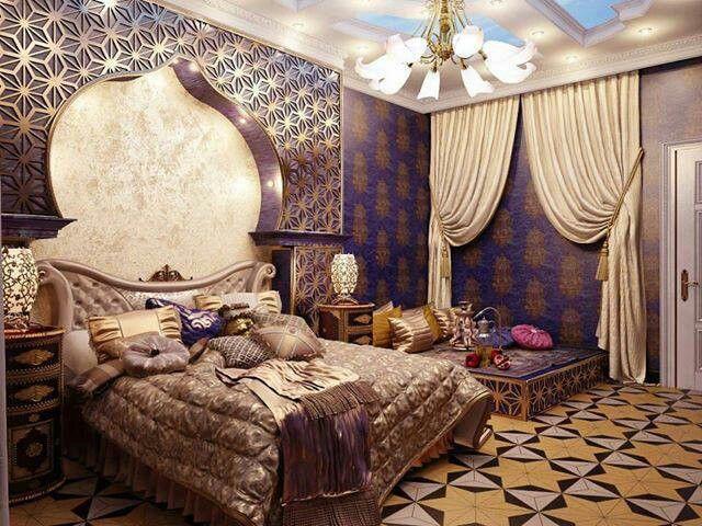 Moroccan Bedroom | Moroccan bedroom, Indian bedroom decor ...