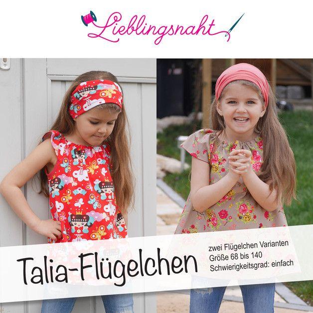 """Flügelchen-Ärmel für das E-Book """"Talia"""""""
