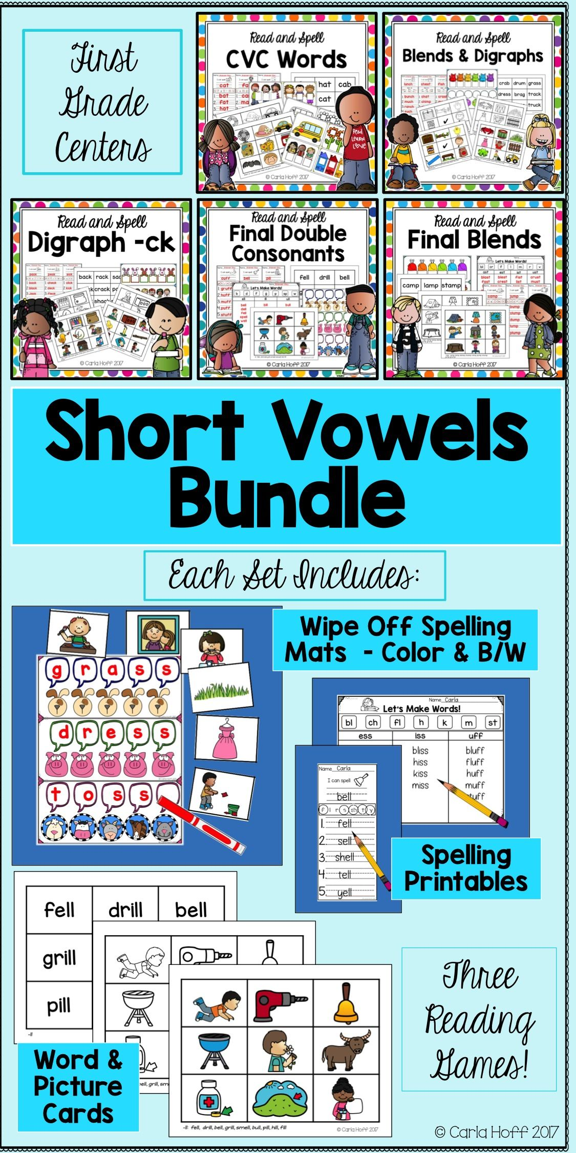 Give First Grade Students Practice Reading And Spelling