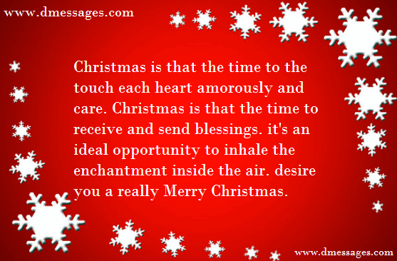 Romantic Messages for Him at Christmas | Merry Christmas wishes text ...