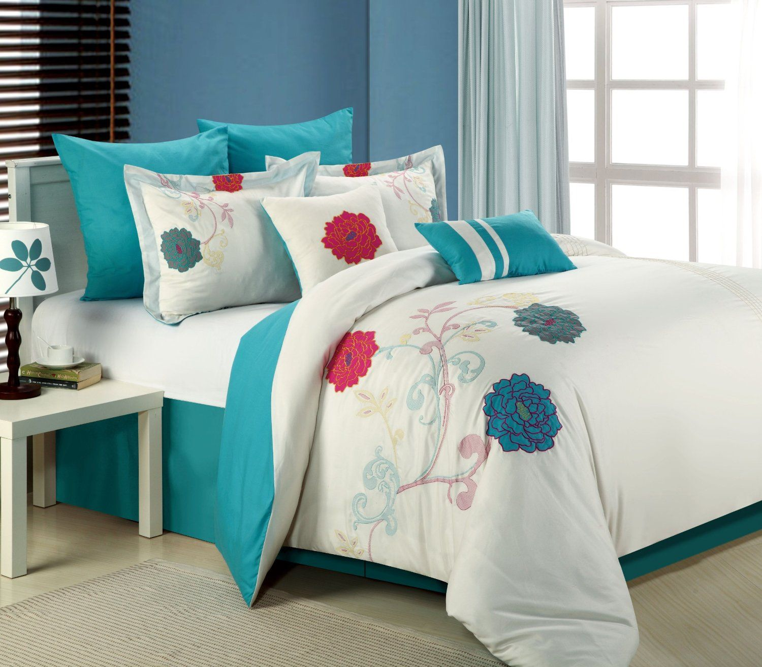 design gray bedding navy blue curtains best bed of home king unique ideas brown teal and set coral sets matching dark ly comforter