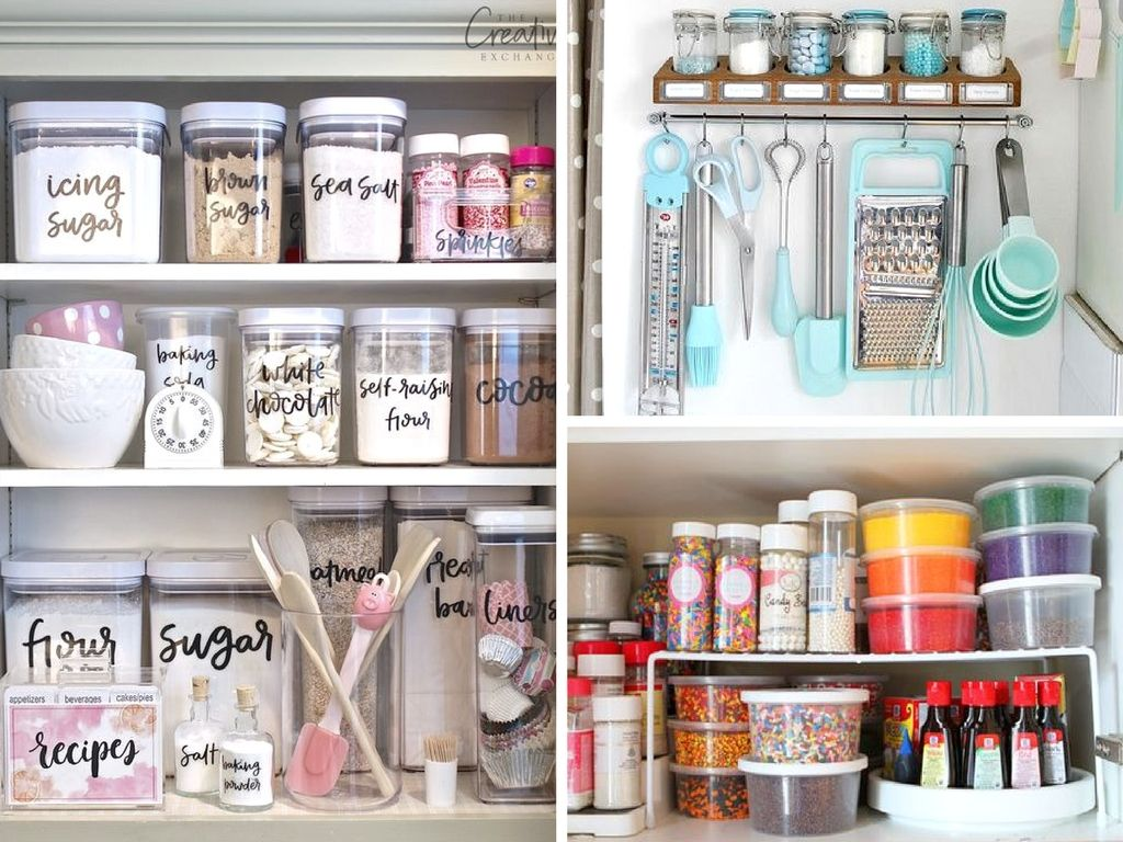 14 Baking Cabinet Organization Ideas Worth Copying With Images
