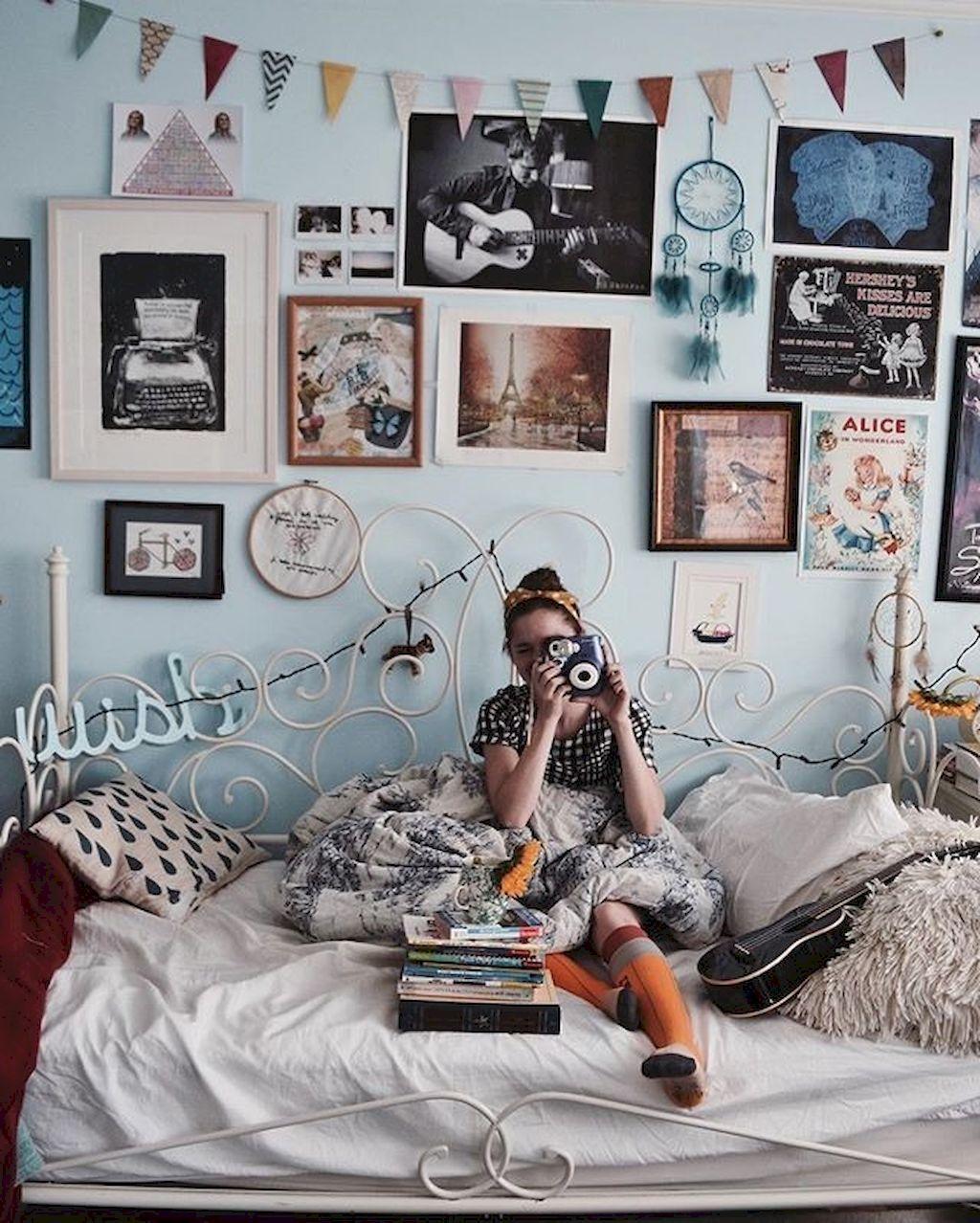 Stunning 85 Beautiful Cute DIY Dorm Room