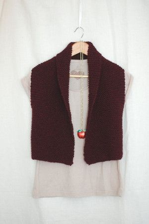 Easy Knit Vest Knit Vest Knit Patterns And Knit Crochet