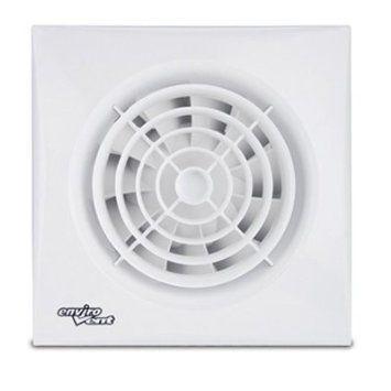 Envirovent Silent 100HT Bathroom Extractor Fan Humidistat /& Timer