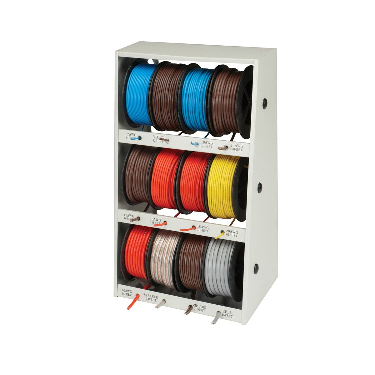 400 ft wire storehouse home workshop workshop organization shop storage electrical wiring [ 1200 x 1200 Pixel ]
