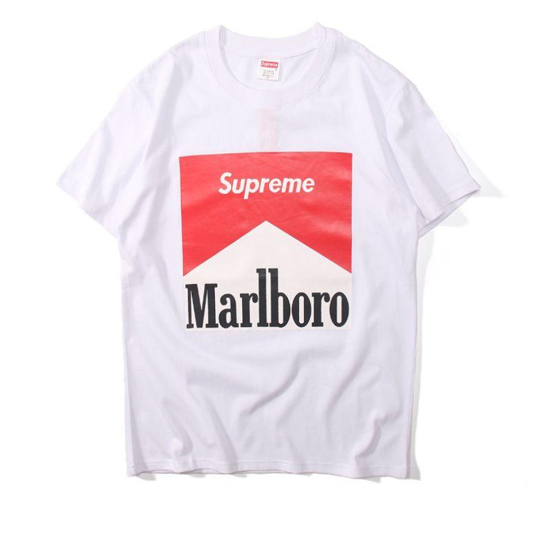 Marlboro x Supreme Shirt Apparel Design in 2019