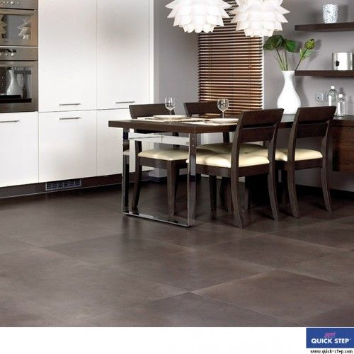 Polished Concrete Dark Laminate Floor Tiles, amazing effect