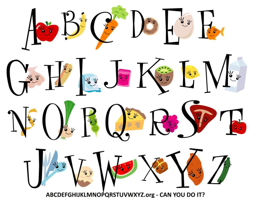 Abcdefghijklmnopqrstuvwxyz Are Letters Of The English And