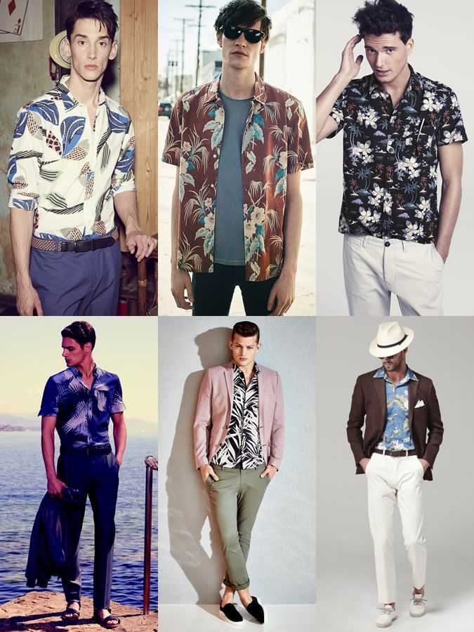 a7e52ec4 Men's Hawaiian Shirts Outfit Inspiration Lookbook | Varios in 2019 ...